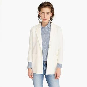 new nwt Sophie Open-front Sweater-blazer J.Crew in